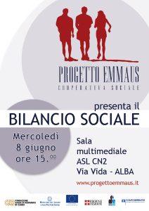 Bilancio Sociale | Coop Progetto Emmaus