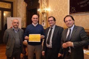 La premiazione presso la Camera di Commercio di Cuneo