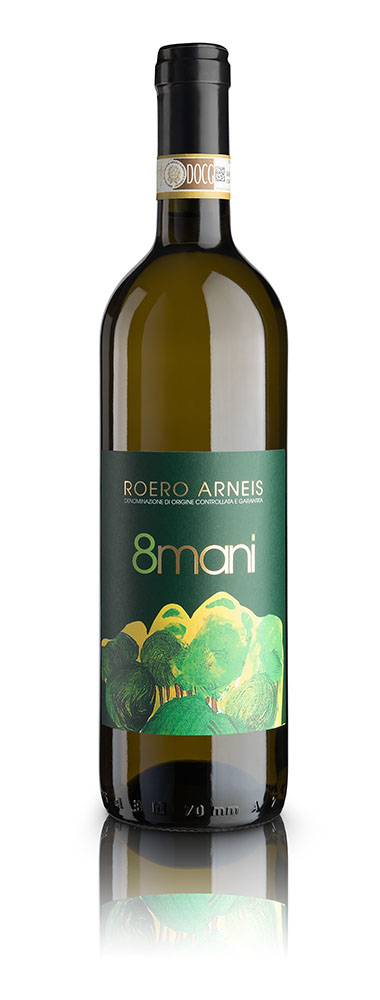Roero Arneis 8Mani - vino sociale - Coop Progetto Emmaus